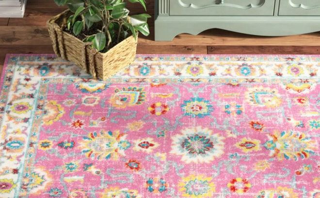 Bright & Bold Area Rugs Sale Up to 81% Off (Starting at JUST $16) – So Many Styles!