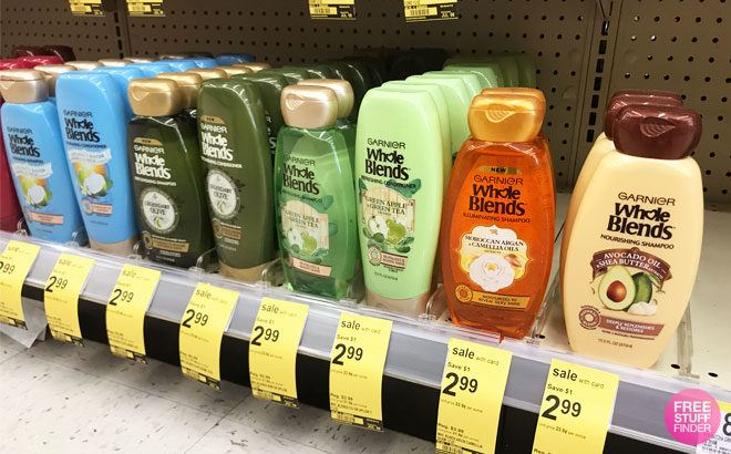 Garnier Shampoo or Conditioner ONLY 99¢ at Walgreens (Reg $4) - Just Use Your Phone!