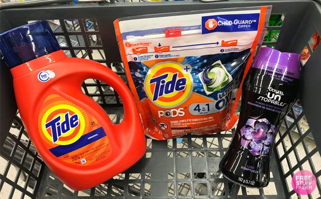 Tide, Downy & Bounce Products ONLY $1.99 Each at Walgreens (Regularly $5)