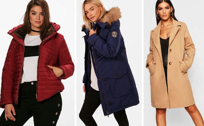 Up to 60% Off Jackets & Coats at Boohoo - Starting at JUST $20!
