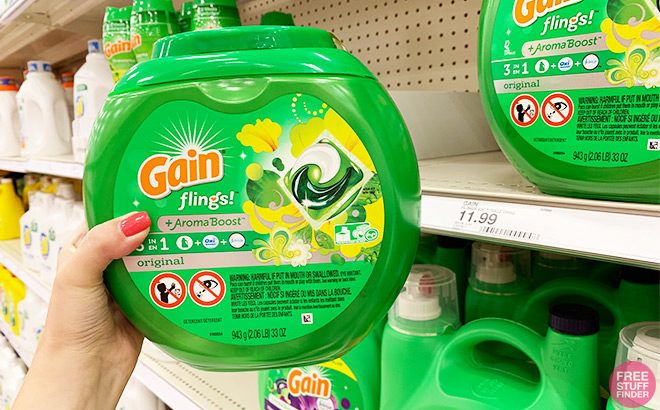 Gain Flings 42-Count JUST $4.99 at Target (Regularly $12) - Print Coupons Now!