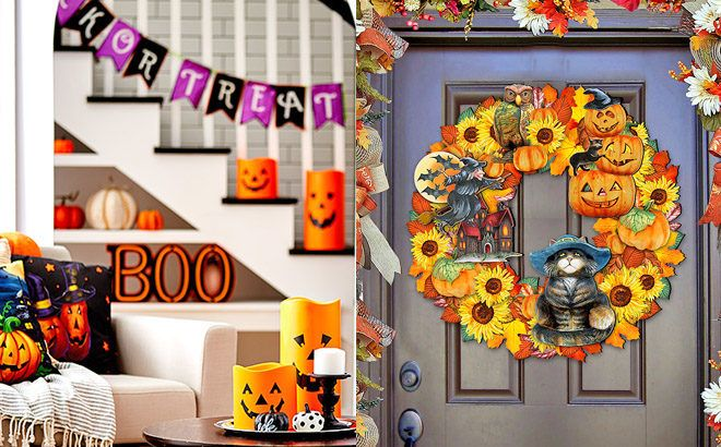 Halloween Home Decor for Up to 45% Off at Zulily - Starting at ONLY $3.99