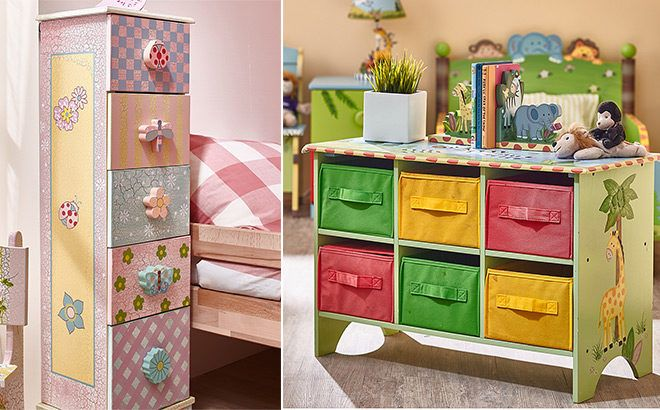 Kids Toy Storage Solutions Up to 60% Off at Zulily (Starting at ONLY $8.99!)