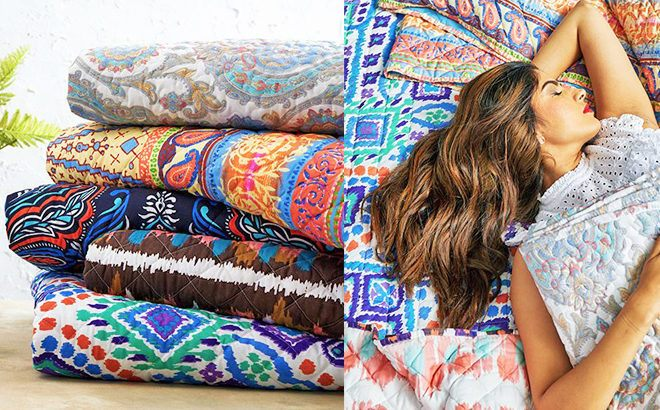 Up to 75% Off Quilt Sets at Zulily - All Sizes Under $30 (Starting at ONLY $24.99)