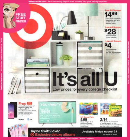 *HOT* Target Ad Preview (Week 8/18 – 8/24)
