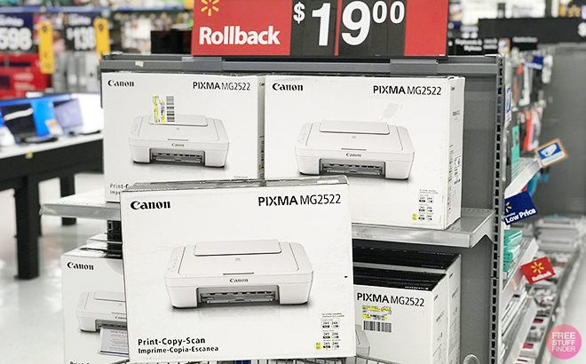 It's BACK! Canon PIXMA ALL-in-One Inkjet Printer for ONLY $19 (Reg $35) at Walmart