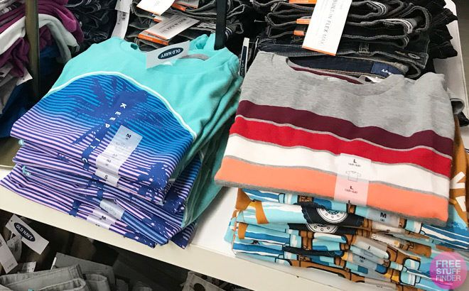 Old Navy Kids Tees, Tanks & Polos ONLY $3 + Girls Dresses JUST $6 - $7 (Today Only)