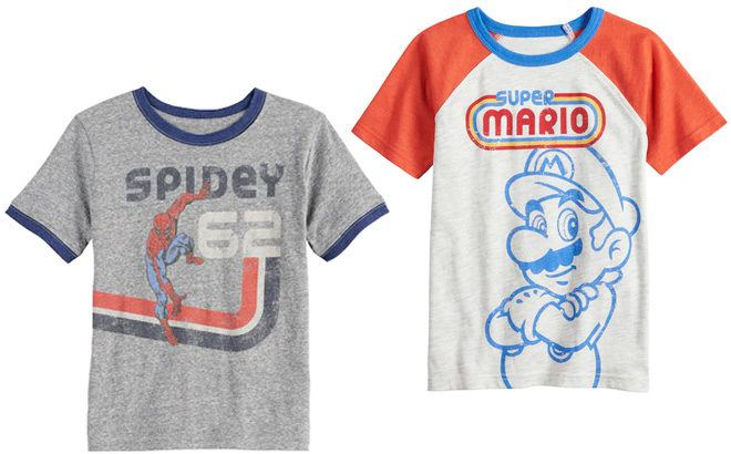 Retro Graphic Tees From JUST $4.62 Each at Kohl's (Regularly $18)