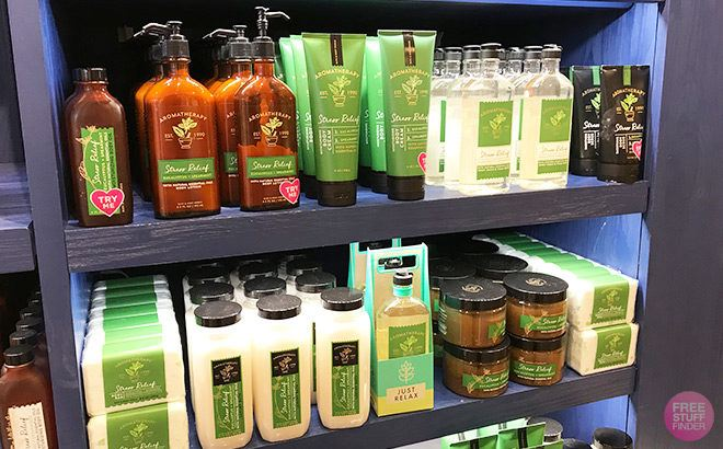 Bath & Body Works Aromatherapy Body Care ONLY $5.40 Each (Reg $13.50) - Today Only!