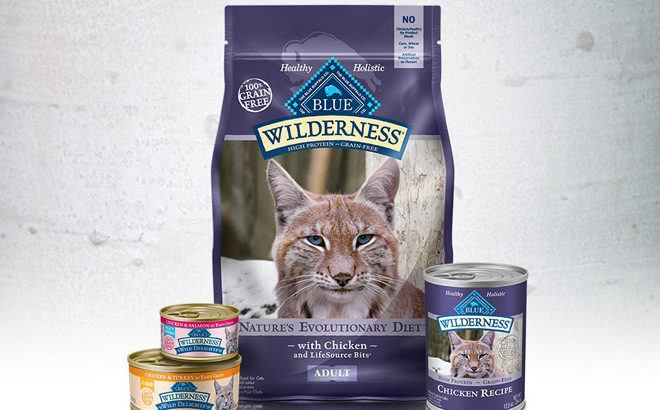 Blue Buffalo Wilderness Cat & Dog Treats Starting at JUST $2 at Amazon