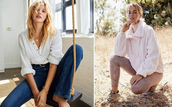 Free People Women's Apparel Up To 75% Off at Macy's - Starting at JUST $8.96!
