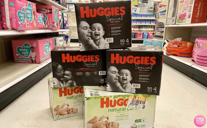 Huggies Super Pack Diapers & Wipes For ONLY $15.99 Each at Target (Regularly $25)