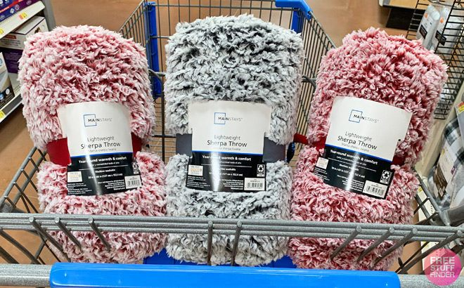 FREE Sherpa Throw Blanket + FREE Pickup (New TCB Members) - Perfect for Fall!