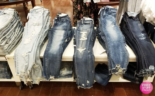 American Eagle Jeans Starting at JUST $14 (Regularly $50) - HURRY, Ends Today!