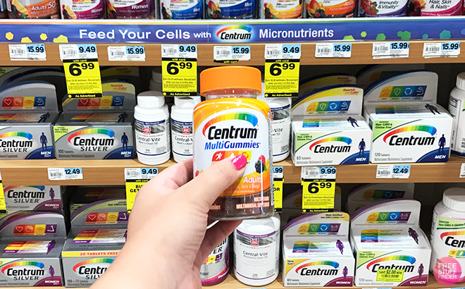 Centrum Multigummies for ONLY $1.99 Each at Rite Aid (Regularly $10) Stock Up Now!