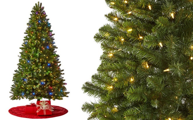 North Pole Trading Co Pre-Lit Christmas Tree JUST $67.47