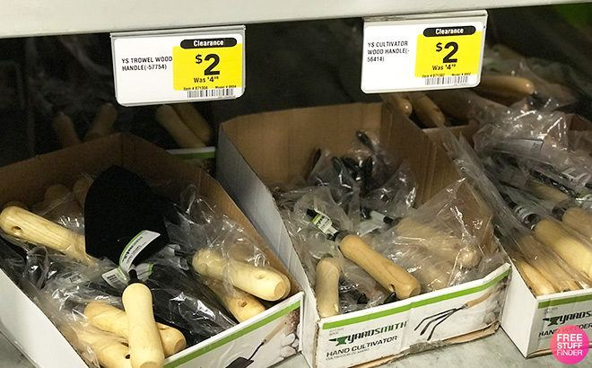 Clearance Find: Up to 60% Gardening Tools at Lowe's - From JUST $2!