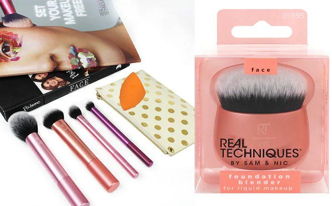 50% Off Brushes & Cosmetics at Kohl's - From $3 (Fizz & Bubble, Real Techniques)