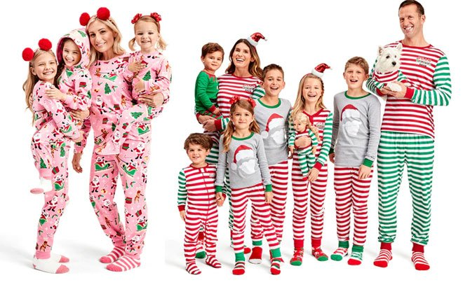 Matching Family Christmas Pajamas.Matching Christmas Pajamas For The Family Starting At Just