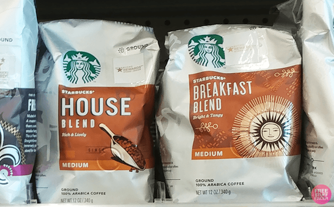 Starbucks Whole Bean Coffee Bags 3-Pack $17.59 (Regularly $22) - ONLY $5.86 per Bag!