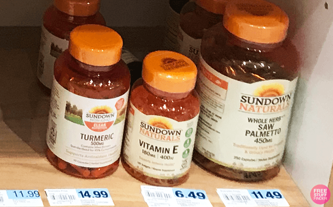 Sundown Naturals 100-Count Vitamin E for ONLY $1.24 Each at Rite Aid (Regularly $7)