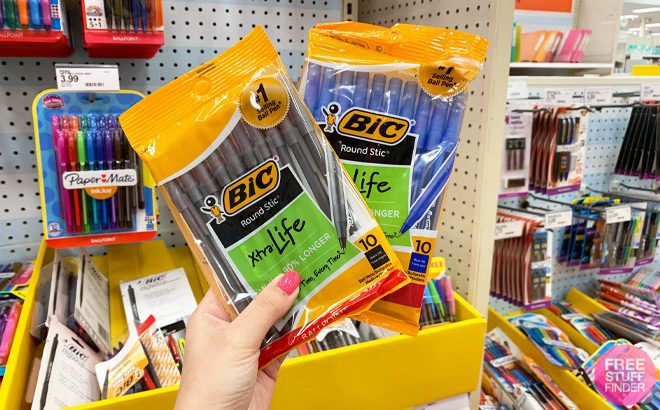 FREE BIC Pens at Target - Just Use Your Phone!