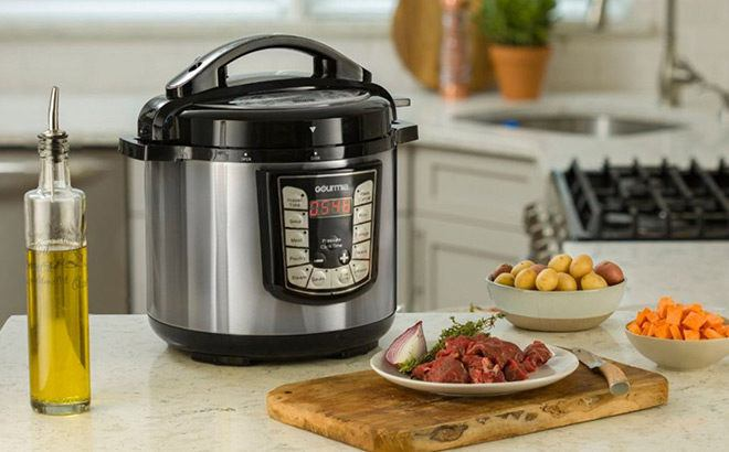 *HOT* Gourmia 8-Quart Pressure Cooker for ONLY $39.99 + FREE Shipping (Reg $100)