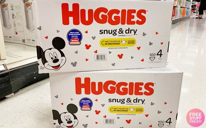 RUN! FREE Huggies Snug & Dry Super Pack Diapers + FREE Pickup (New TCB Members)