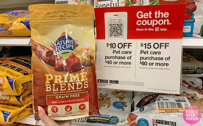 Nature's Recipe Prime Blends Dry Dog Food ONLY $4.74 at Target (Reg $11) - Print Now!