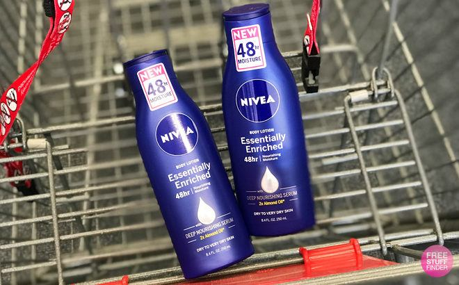 Nivea Essentially Enriched Body Lotions JUST 49¢ Each at CVS (Regularly $5)