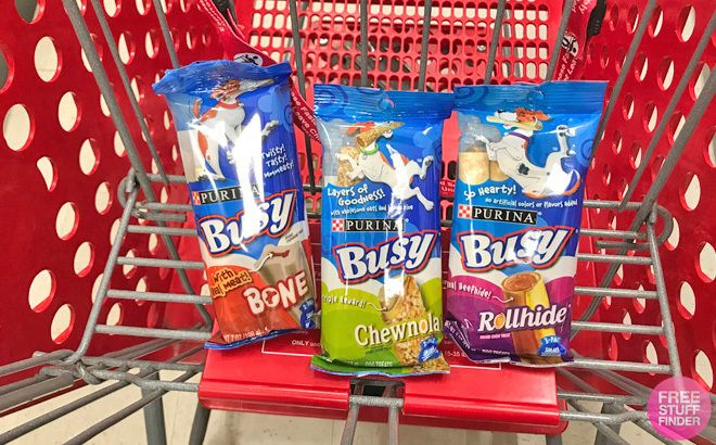 Purina Busy Dog Treats ONLY $1.02 at Target (Regularly $2.69) - Load Circle Now!