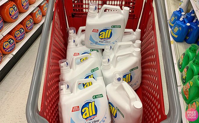 All Ultra Free Clear Laundry Detergent for JUST $4.99 at Target (Reg $10)