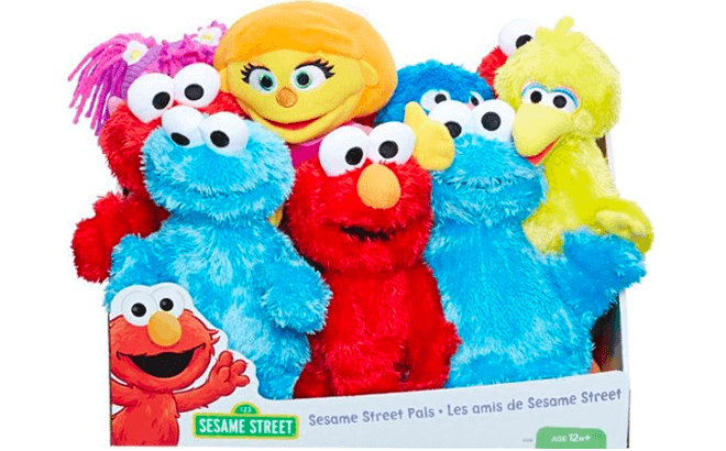 Toys Starting at ONLY $4.49 + FREE Shipping (Sesame Street, Yummy World, Treasure X)
