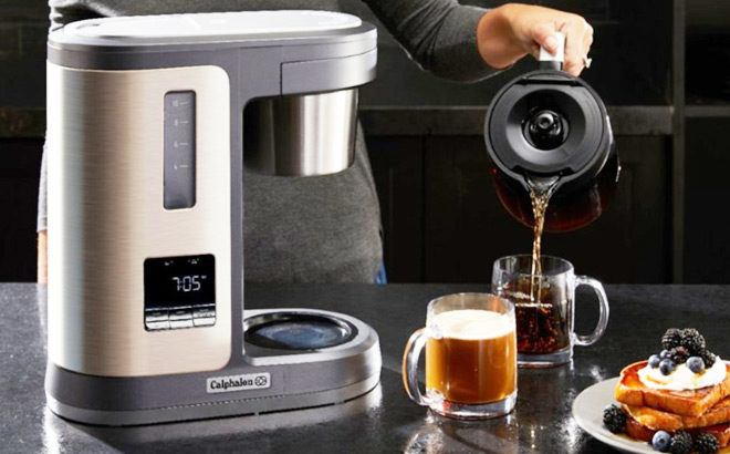 Calphalon Special Brew 10-Cup Coffee Maker ONLY $39.99 + FREE Shipping (Reg $160)
