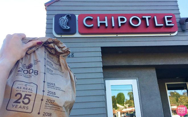 FREE Queso Blanco Burrito Topping and FREE Delivery at Chipotle - TODAY Only!