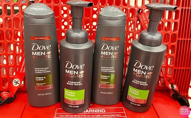 Dove Men+Care Foaming Body Wash for JUST $1.27 Each at Target (Reg $5.39)