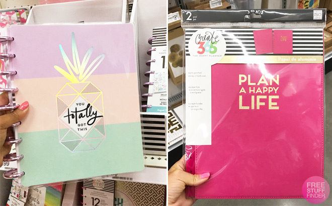 The Happy Planners & Accessories Up To 60% Off - Starting at JUST $3.99