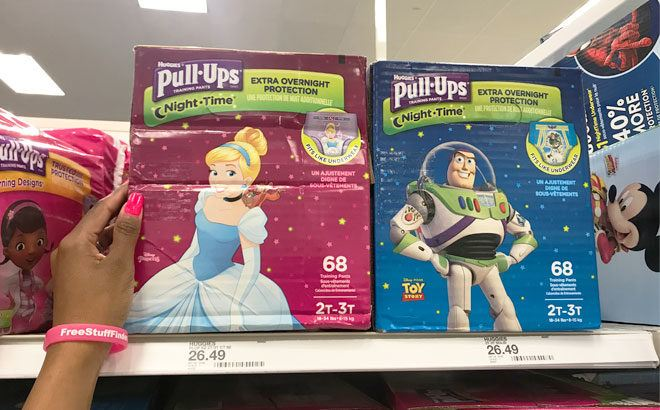 Huggies Pull-Ups Super Pack Training Pants ONLY $17.99 Each at Target (Reg $26.49)