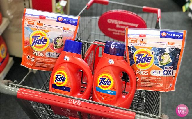 Laundry Related Product Deals This Week (10/27 – 11/2) – Save on Tide, Downy, Purex