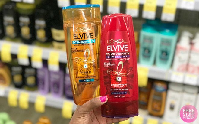L'Oreal Elvive Hair Care for ONLY $1.50 at Walgreens (Regularly $5)
