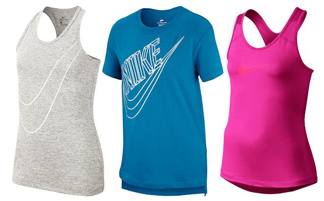 Up to 60% Off Nike Girls Apparel at Zulily - Starting at ONLY $9.79!