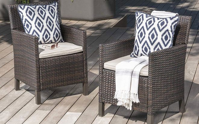 Patio Chairs Clearance Sale Up to 84% Off (Starting at ONLY $28) - So Many Styles!