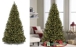7-Foot Christmas Pine Tree with 280 Lights Only $79.99 + FREE Shipping (Reg $196)