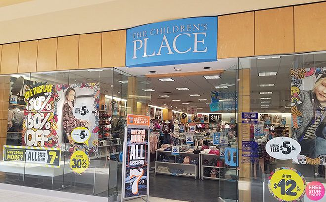 Possible FREE $5 Off The Children's Place Purchase Coupon (Check Your Email!)