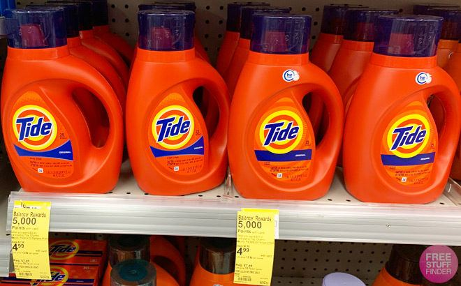 Tide Laundry Products for ONLY 49¢ Each at Walgreens (Regularly $7) - Print Now!