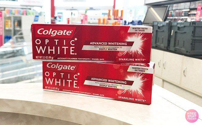 Colgate Toothpaste JUST 99¢ Each at Walgreens (Regularly $4.49)