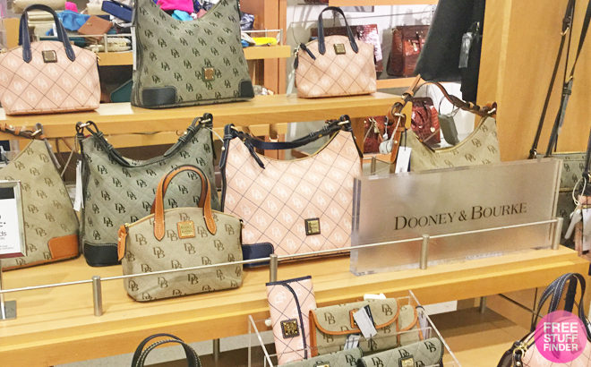 Up to 45% Off Dooney & Bourke Bags & Wristlets - From ONLY $69.99 (Reg $138)