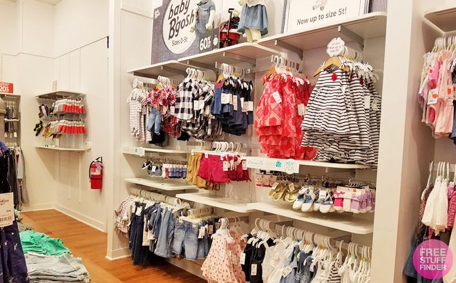 Up to 70% Off Oshkosh B'Gosh Baby & Kids Apparel + FREE Shipping - Today Only!