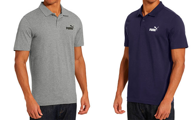 PUMA Men's Jersey Polo JUST $11 (Reg $35)