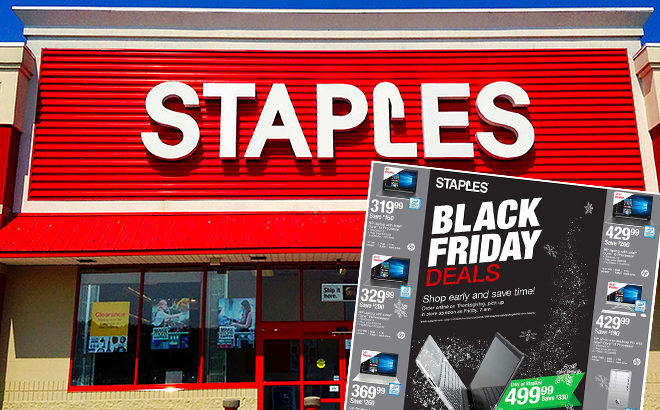 Staples BLACK FRIDAY Ad Scan Posted! (11/22 - 11/24)